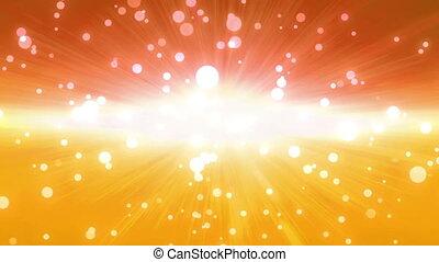 bokeh glow background orange