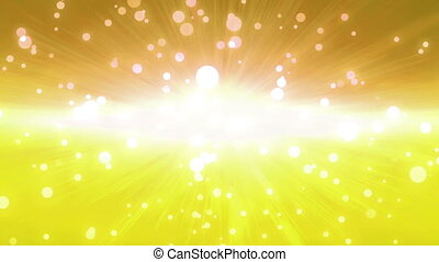 bokeh glow background yellow