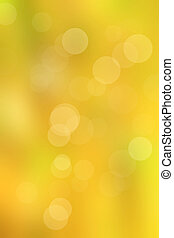 bokeh gold light background