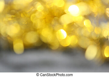 bokeh, goud