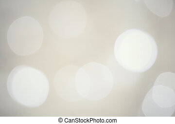 Bokeh gray background