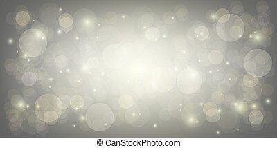 bokeh gray light abstract background vector illustration