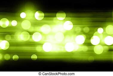 bokeh, groene toon, vaag, abstract, achtergrond