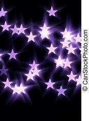 bokeh, gwiazdy