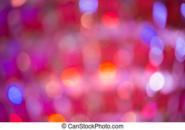 Bokeh, It's out of focus but It's beautiful and colorful picture