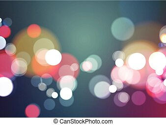 Bokeh Light Background