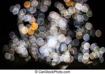 Bokeh light circle background