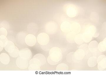 bokeh, lights., achtergrond, defocused, kerstmis, ouderwetse...
