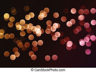 bokeh lights background 2401