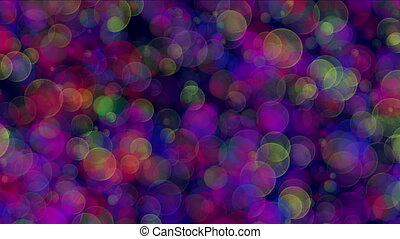bokeh lights circles background 4k