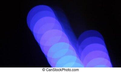bokeh lights on Christmas or new year