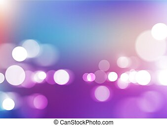 Bokeh lights with blurred colors background