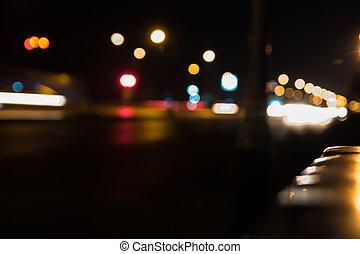 bokeh, luces
