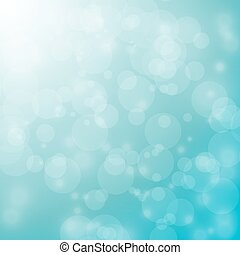 bokeh on blue and green background