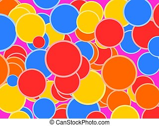 bokeh or light ball background .Illustration vector.