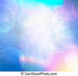 bokeh, résumé, lumières, colorfull, arrière-plan.