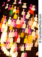 bokeh series - bottles2.