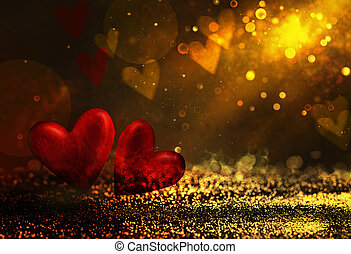 Bokeh shiny abstract background . Valentines background