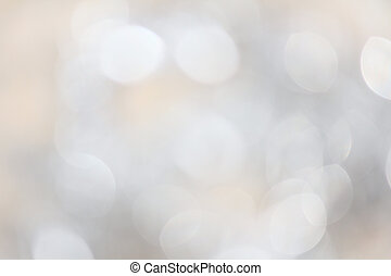 Bokeh silver lights