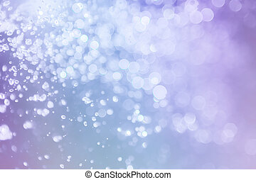 bokeh water with light elegant abstract
