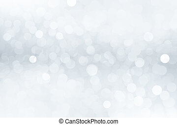Abstract winter background with bokeh effect