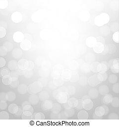 bokeh, zilver, achtergrond
