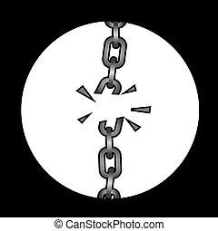 Boken chain
