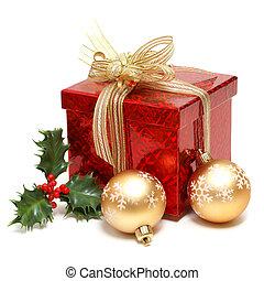 boks, święto, dar