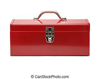 boks, instrument, czerwony