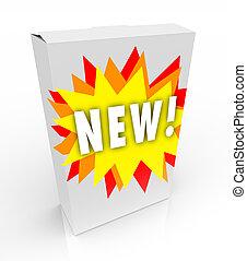 boks, nowy produkt, starburst, -