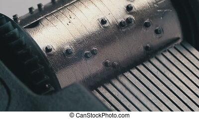 boks, obraca, muzyka, mechanizm