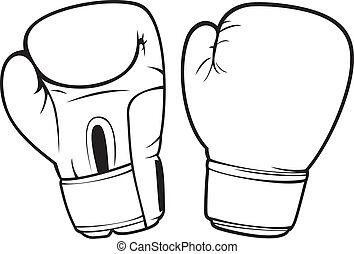 boks rękawiczki