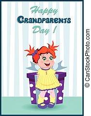 boks, sprytny, dar, dziadkowie, powitanie, dzierżawa, ...