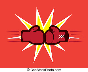 boksning handske, finder
