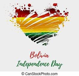 bolívia, dia independência