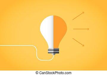 licht idee illustratie lamp achtergrond bol lamp concept illustration concept licht. Black Bedroom Furniture Sets. Home Design Ideas