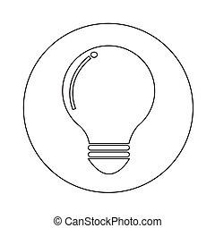 bol, ontwerp, illustratie, pictogram