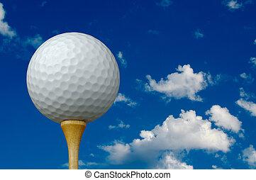 bola, baliza golfe, &