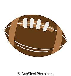 bola futebol americano americana