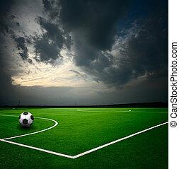 bola, futebol, estádio