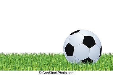 bola, futebol, verde, estádio