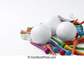 bola golfe baliza