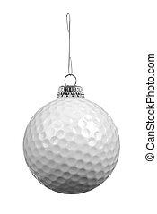 bola golfe, ornamento