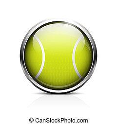 bola tênis, ícone
