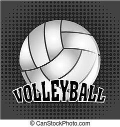 bola, voleibol