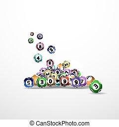 bolas, loteria