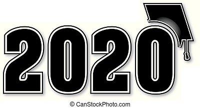 Black Graduating Class of 2020 Banner