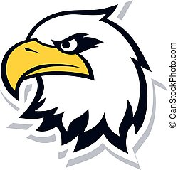 bold eagle template - bold eagle bird template theme vector...