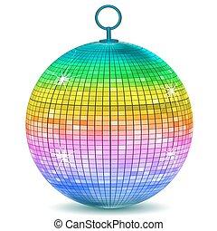 bold, farverig, disco