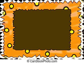 Bold Frame - Bold and wacky frame border.